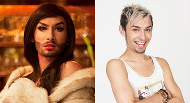 Conchita Wurst alias Thomas Neuwirth
