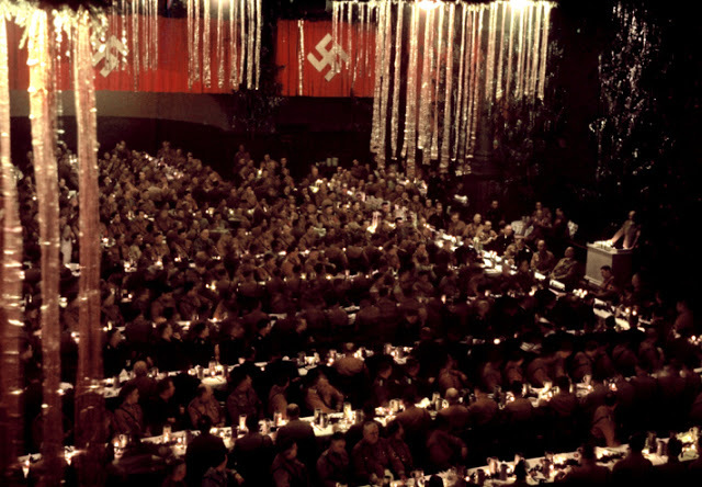 02-Scene-from-a-Christmas-party-in-Munich-thrown-by-Adolf-Hitler-for-his-generals-1941
